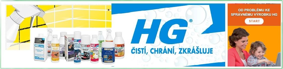 HG čistící prostředky
