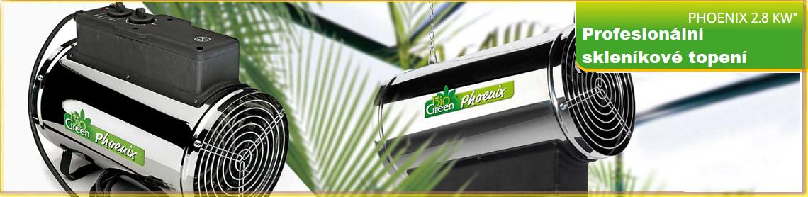 Vyhřívání skleníku - Biogreen
