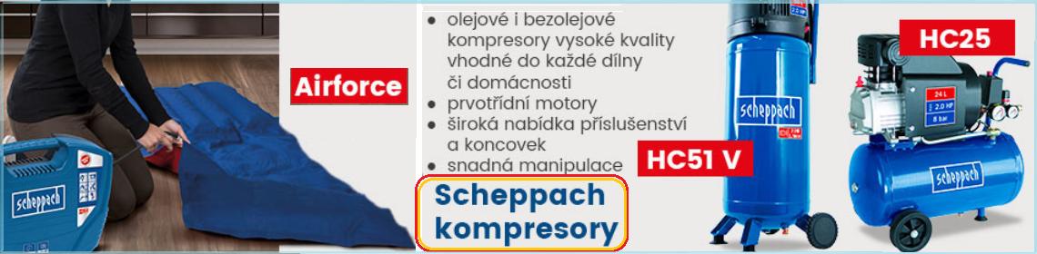 Kompresory Scheppach