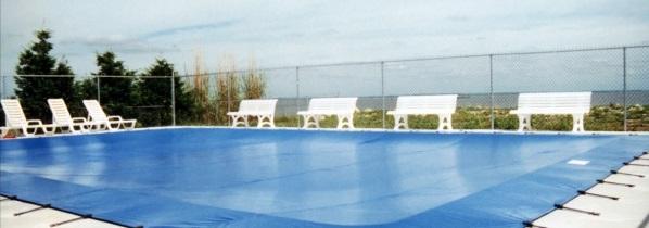 Ochranná síť na bazén