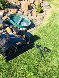 Instalace robotické sekačky - Zelené údolí