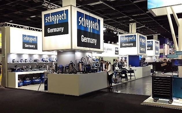 servisní střediska Scheppach