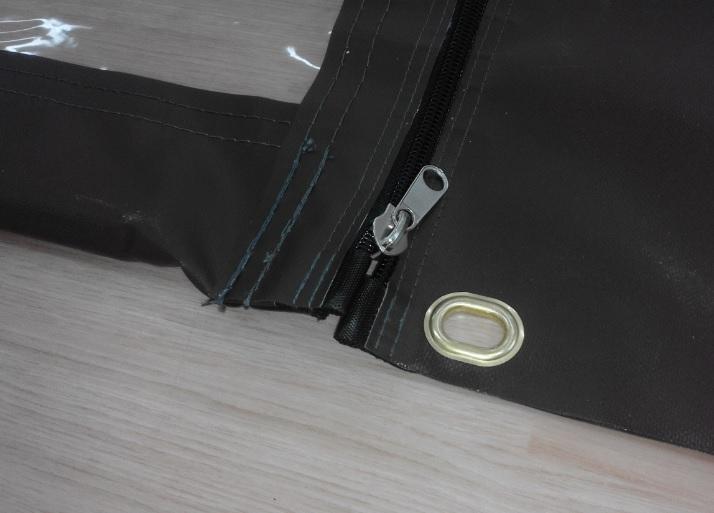 Propracované detaily závětrných bočnic