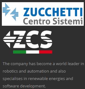 Výrobce robotických sekaček Zucchetti Centro Sistemi S.p.a