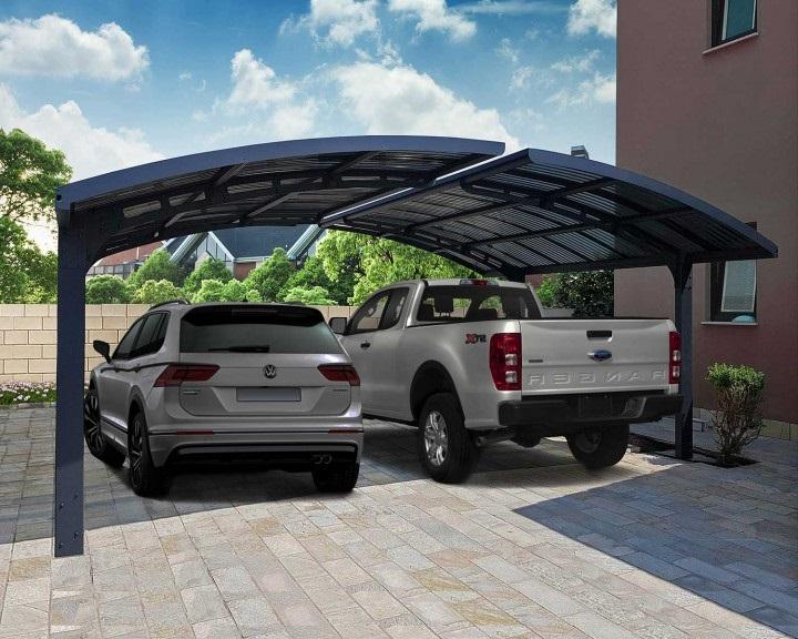Arizona garážové stání pro 2 auta