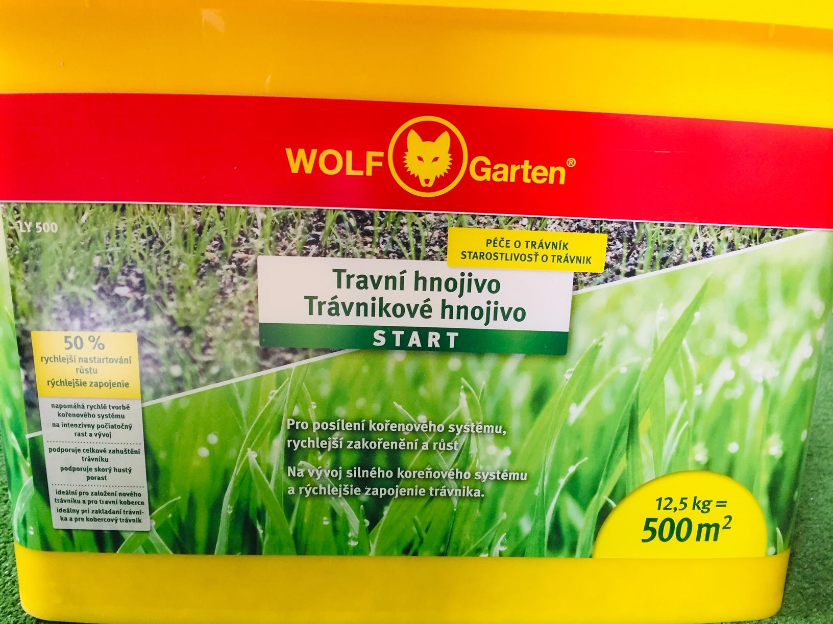 WOLF-Garten LY 500 - startovací hnojivo na trávník