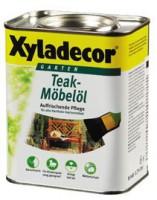 Ochranný teakový olej bezbarvý - 0,75l