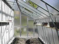 Prodloužení skleníkové přístavby Limes ke stěně domu Variant D