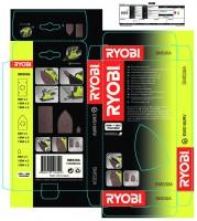 Ryobi SMS 30A - sada brusných papírů pro EMS180RV
