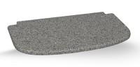 Žulová deska před topeniště | 60 x 33 x 2 cm |