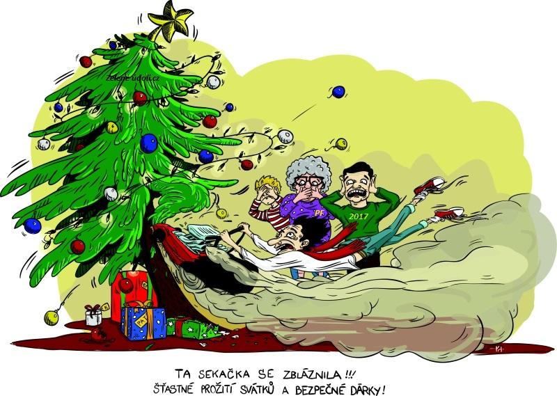 Vánoční přání a PF 2017