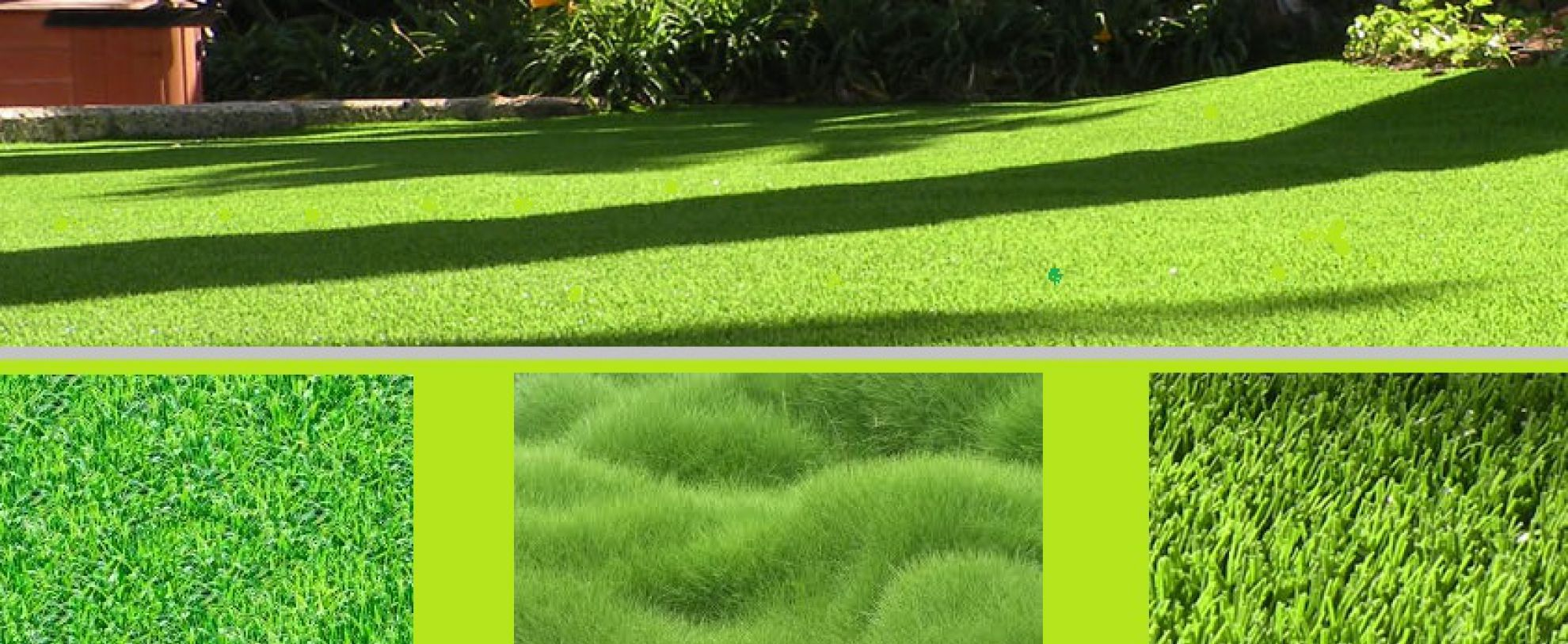 Trávníkové koberce - grass carpet