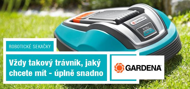 výhody robotické sekačky GArdena